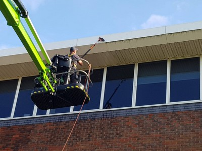 Elevated Cleaning of Windows, Facia, Soffit